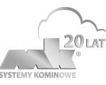 grafika 20 lat MK Systemy Kominowe